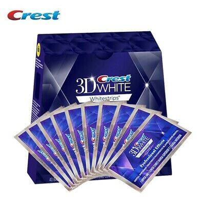 Crest 3D White Luxe Professionnel Patch Dentaire 20 Bandes 10 J. + Stylo Blanc