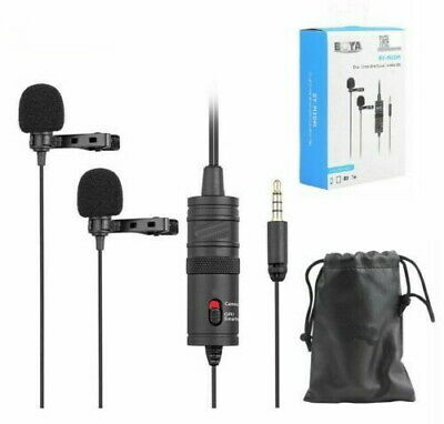 BY-M1DM 3.5mm Omnidirectional Lavalier Microphone for Canon Nikon Sony DSLR