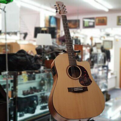 Maton Acoustic/Electric Guitar Srs70C Solid Road Series With Case #49671