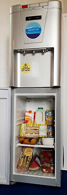 Spring Sale -  Silver Mains Fed Water Cooler with Fridge. Hot, Cold & Ambient