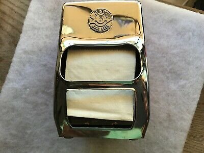 1960's A & W Root Beer Vintage Original Napkin Holder With Arrow Logo