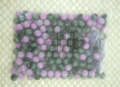 SqwishLand City Mystery Capsules Balls *Purple Green Black* Qty 250 SquishLand