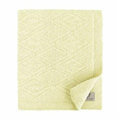 Linen  Cotton Soft Knitted Baby Throw Blanket Lilou for Boys Girls - 100 Pure