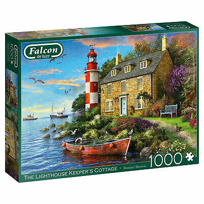 The Lightkeepers Cottage 1000 Piece Jigsaw