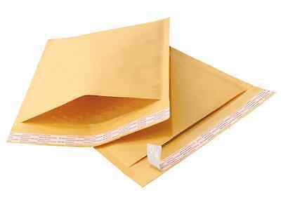 100 8.5X12 Kraft Bubble Mailers Shipping Envelopes Ecolite Made In Canada
