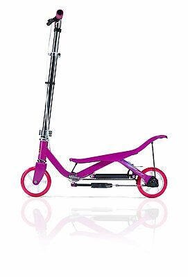 SPACE SCOOTER Junior X360 pink Mädchen Push Board Wipproller leise