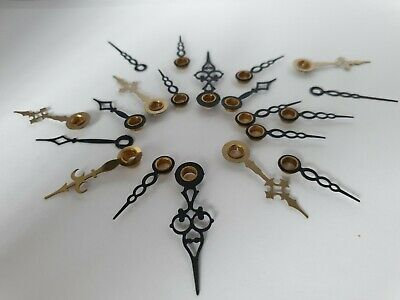 Vintage Clock Hands For Mantle & Wall Clocks, Assorted Sizes For Spares. Ref G