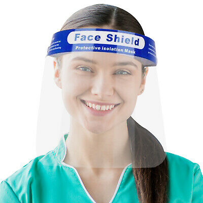 Face Shield Safety Full Face Shield Transparent Visor with Eye Head Protection