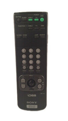 Sony Dss Satellite Receiver Remote Control Rm Y130 Guaranteed To Work 18 99 Picclick