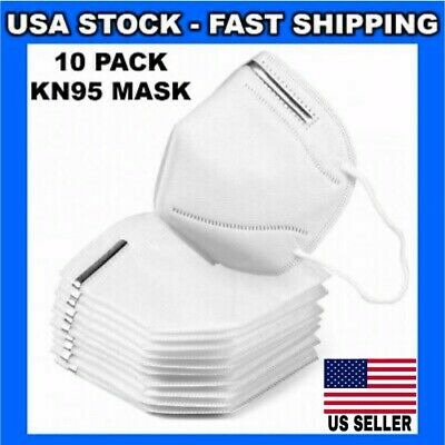 10 Pack KN95 Face Mask Mouth Cover Protective Masks Disposable Respirator KN95