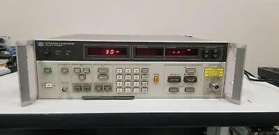 HP 8970B Noise Figure Meter Option 022 10-2047MHz GOOD!!