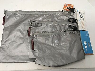 Pack-It Specter Sac Set of 3 by Eagle Creek -Travel Accessory Bags - Gray