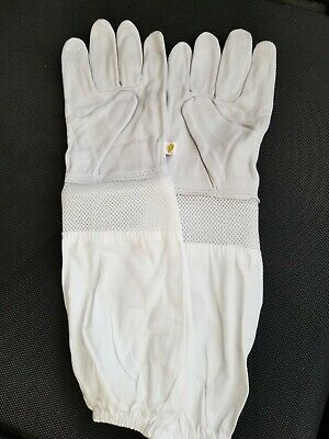 Beekeeping Ventilated Goatskin Protective Gloves L/XL