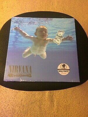 Nevermind by Nirvana (180G Vinyl, 2013, Geffen) New! Sealed!