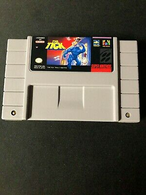 The Tick (Super Nintendo Entertainment System, 1994) Cart Only