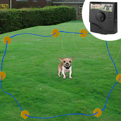 110-240V NEW Wireless Electric Dog Pet Fence Containment System Waterproof