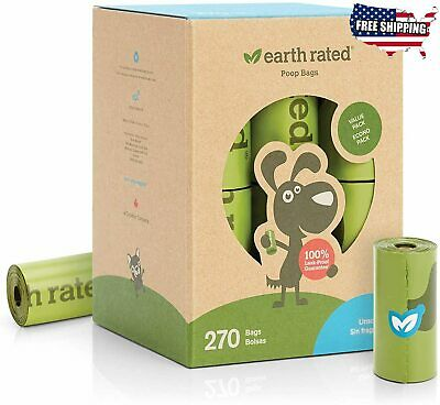Earth Rated Dog Poop Bags, Extra Thick and Strong Poop Bags for Dogs
