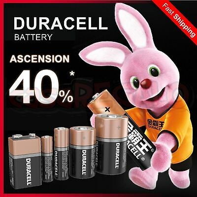 Duracell AA AAA 9V C D Battery 1.5V Duralock Batteries Longest 10-Year Expiry