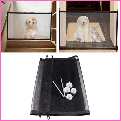 Door Guard Magic Pet Portable Kids And Pets Safety Dog Gate Fence Barrier Indoor