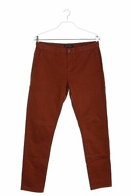 FRENCH CONNECTION Chino-Hose mit Logo-Patch W32 = W32 hellbraun Chinos