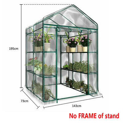 3 Tier Tomato Growbag Growhouse Mini Outdoor Garden Greenhouse PVC Cover