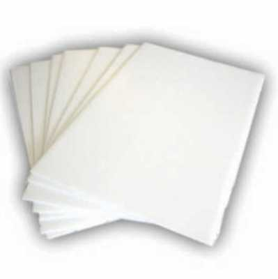 "WHITE Corrugated Plastic 12"" x 18"" 4mm Coroplast yard signs blank PACK OF 10"