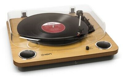 Ion Audio Max LP | USB Digital Conversion Turntable with Built-in Stereo Speaker