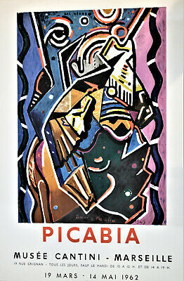 Cartel Picabia. Museo CANTINI.MARSEILLE.1962.pv203