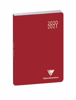 """Agenda scolaire """"Work & After"""" - 2020/2021 - Rouge"""