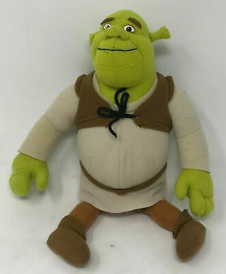"2004 Nanco Shrek 2 Plush Stuffed Animal 14"" Excellent"