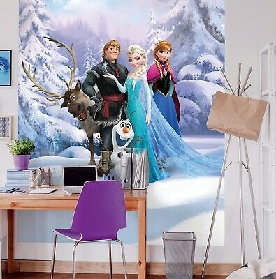 202x90cm Wall mural wallpaper Disney Frozen 2 childrens poster photomural Olaf