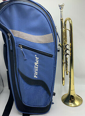 Authentic First Act Trumpet with Mouthpiece in Original Case