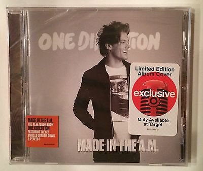 One Direction Made In The A.M Exclusive Limited Edition Louis Tomlinson Cover CD