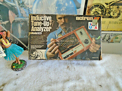 Vintage Actron Tune Up Analyzer Model 620 With Box