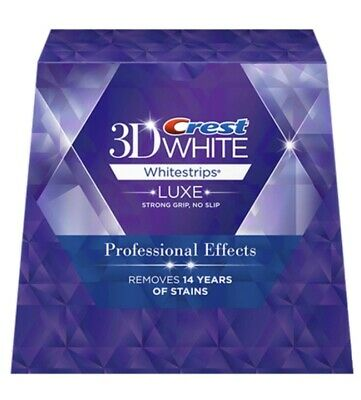 Crest 3D White Luxe + Stylo Blancheur Patch  Dentaire 10 Bandes 5 Jours Original
