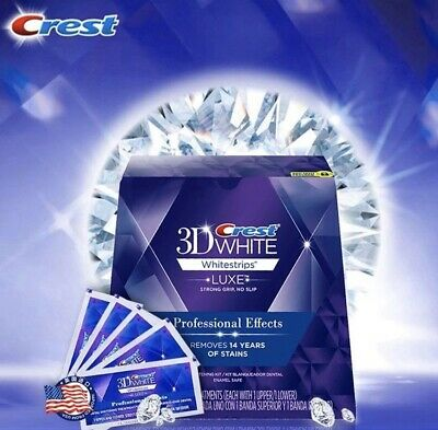 Crest 3D White Luxe + 1 Stylo Blancheur Offert Patch Dentaire 10 Bandes 5 Jours