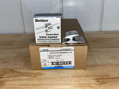 (LOT of 25) NEW T&B BLACKBURN WR379 / DB404 H-TAP COMPRESSION CONNECTORS
