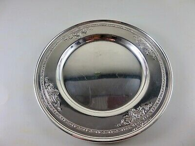 Lady Constance  By Towle  Sterling  Wine Coaster  Dish  Patended 1924 /2 Pc/