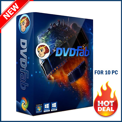 DVDFab 11 🔥🔥 Lifetime License ✅ Official Version✅ INNSTANT DELIVERY✅