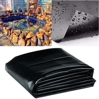 Durable Fish Pond Liner Gardens Pools PVC Membrane Reinforced Landscaping 8′-32′