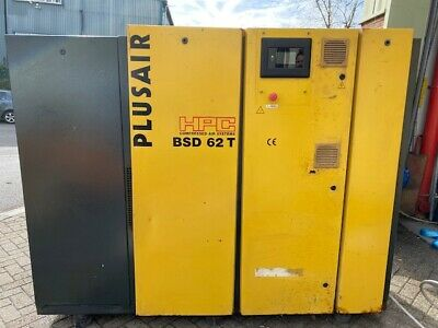 KAESER HPC BS62 200 cfm 7.5 bar 30 kw INDUSTRIAL QUIET SCREW TYPE AIR COMPRESSOR