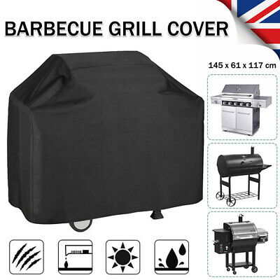 Large BBQ Grill Cover Barbecue Waterproof Protector Heavy Dust Garden Outdoor