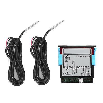EW-801 Digital Solar Water Heater Temperature Controller Thermostat +Sensor