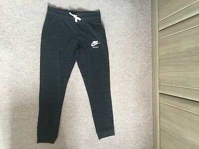 Nike girls jogging bottoms, dark grey, age 14-15 (XL), great condition
