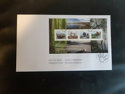Canada stamps 2504 FDC First Day Cover, Baby Wildlife Definitives, souvenir...