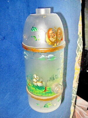 ROYAL- MEMORABILIA: Old hand painted glass with Emperors of Germany and Austria