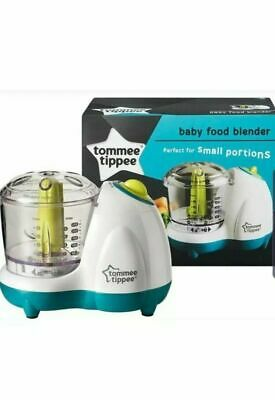 NEW Tommee Tippee Explora Baby Food Blender Mini chopper , Food Processor