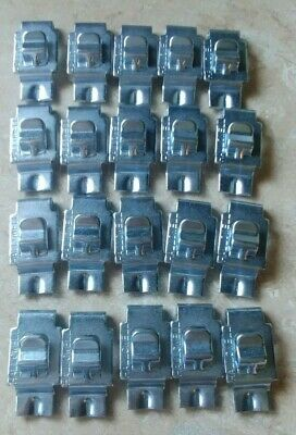 16 Hallowell Steel Shelf Clips for Commercial / Industrial Metal Shelving