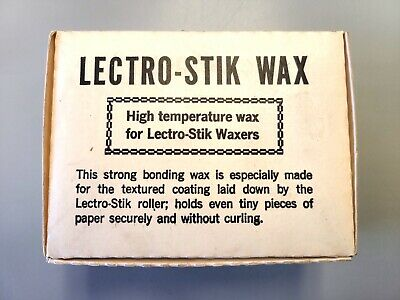 Lectro Stik Wax Adhesive Bar Sticks for Electric Waxer Coater 60 Pieces