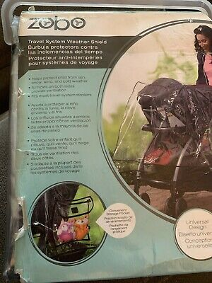 Zobo Travel System Weather Shield Stroller Rain Cover-Child Protecting Cover